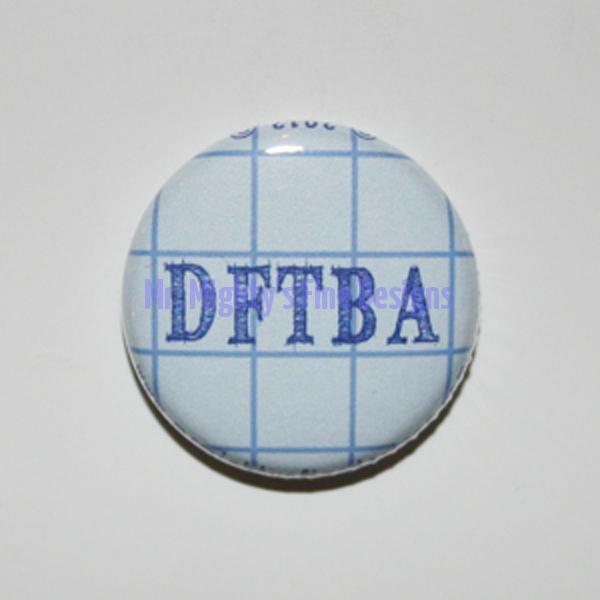 DFTBA - Blue Graph Paper